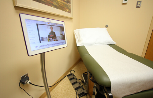 Patient Room at Gastroenterology Health Partners